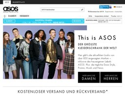ASOS Screenshot