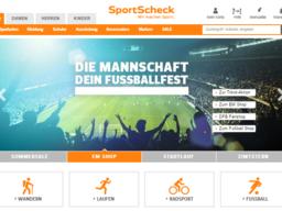 SportScheck Screenshot