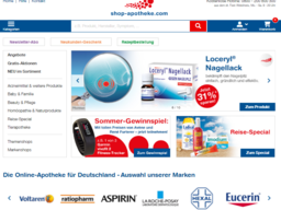 shop-apotheke Screenshot