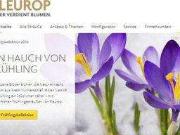 Fleurop Screenshot