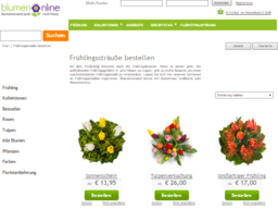 Blumenonline Screenshot