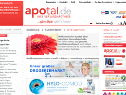 apotal.de Screenshot
