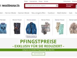 Walbusch Screenshot
