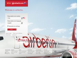 Air Berlin Screenshot