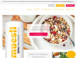 mymuesli Screenshot
