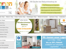 babyonlineshop.de Screenshot